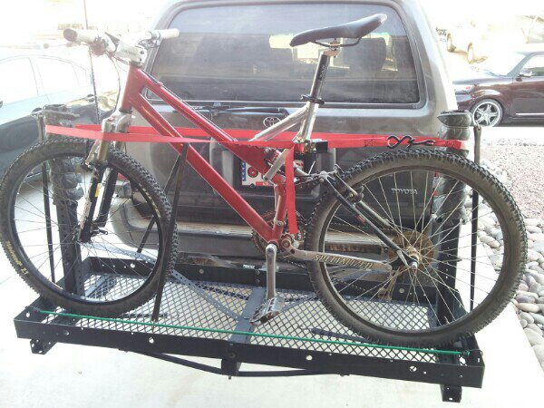 Homemade Hitch Rack For Bikes Cargo Mtbr Com