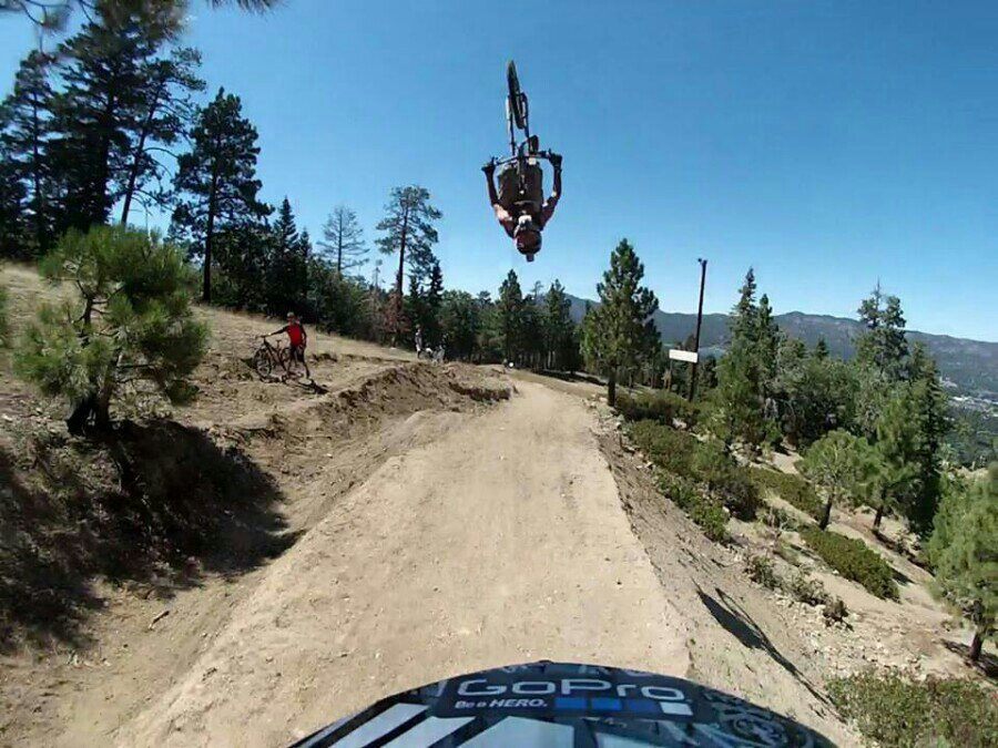Big Bear riding....-uploadfromtaptalk1376490647100.jpg