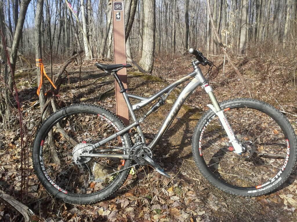 Bike + trail marker pics-uploadfromtaptalk1389913983266.jpg