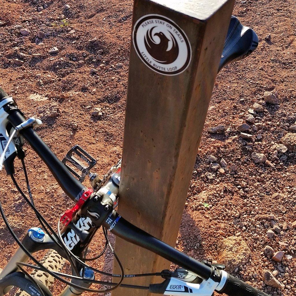 Bike + trail marker pics-uploadfromtaptalk1434557817931.jpg