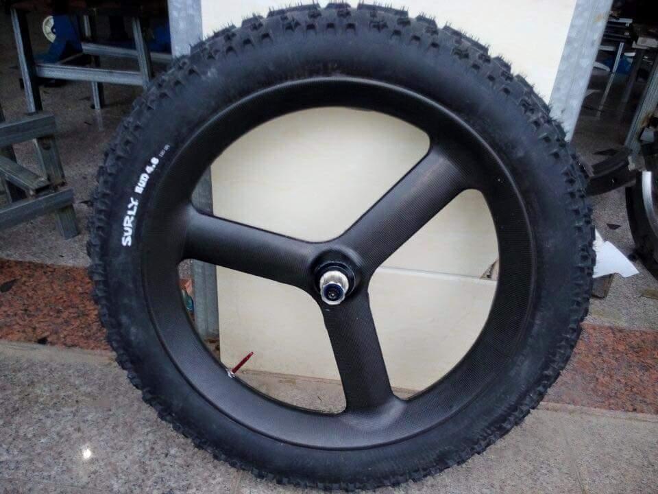 spokes of the wheel