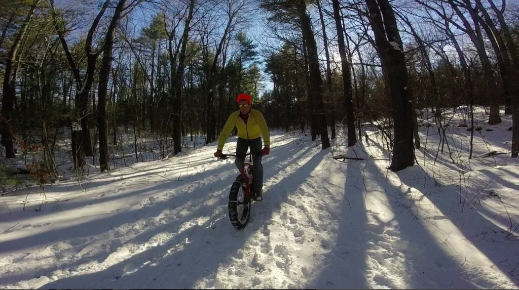One picture, one line.  No whining. Something about YOUR last ride. [o]-upton-state-forest.jpg