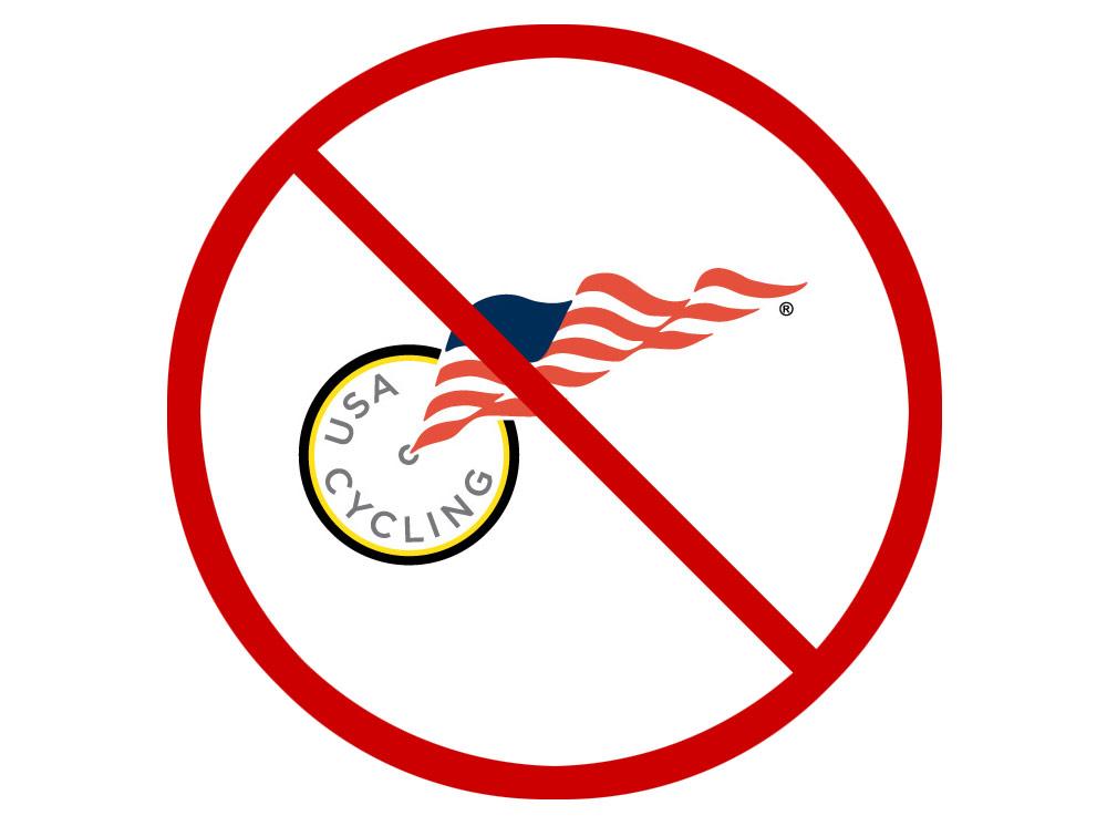 No USA Cycling