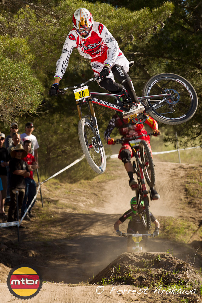 Greg Minnaar can whip.