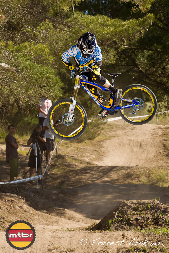 Joe Smith can whip with the best of them!  He and Alex were riding killer when I was shooting this jump!