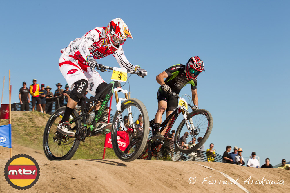 Greg Minnaar and Ryan Condrashoff