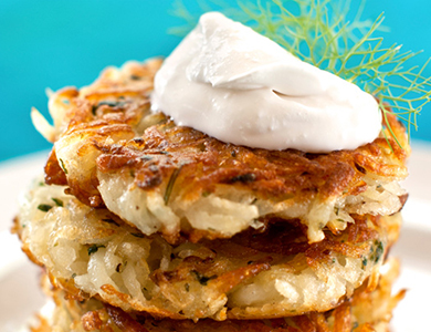 Name:  VegNews.Latkes.HannahKaminskyInLine.jpg