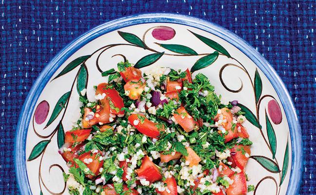 Vegetarian / Vegan / Raw recipes & chat-vegnews.lebanesetabbouleh2.jpg