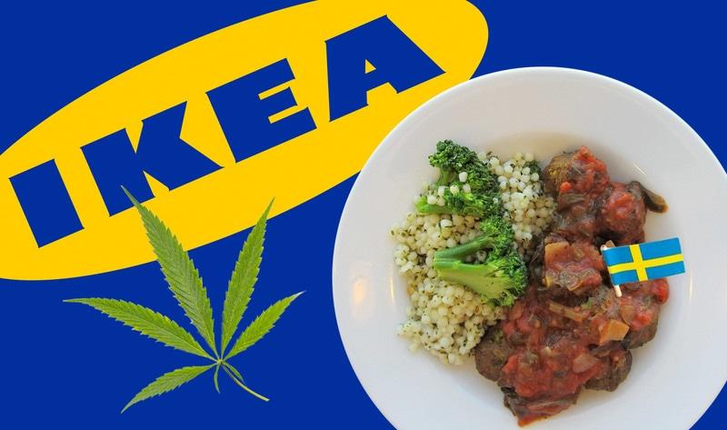 Vegetarian and Vegan Passion-vegnews.veganswedishmeatballsflag.jpg