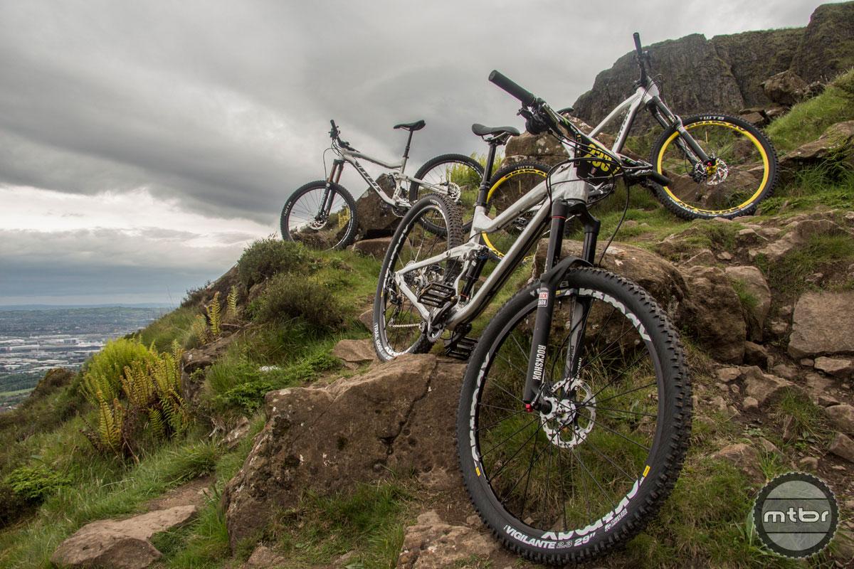 2015 New Vitus Suspension Bikes