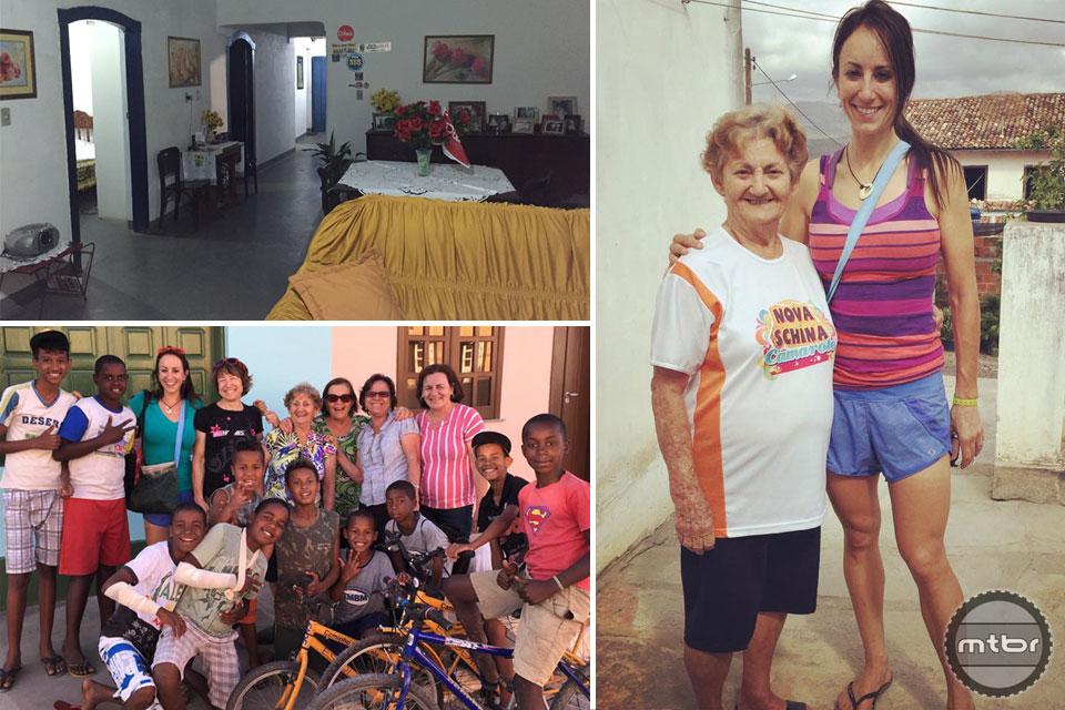 """Host housing in Rio de Contas with """"Vovo"""" which means Grandma in Portuguese."""