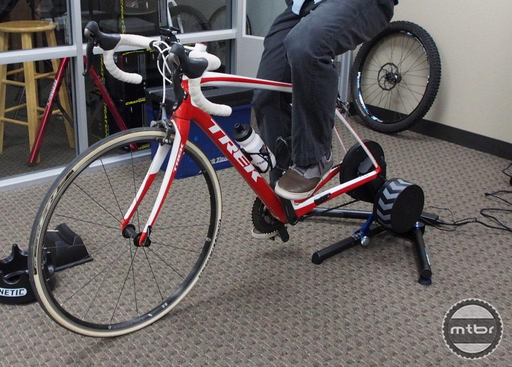 Wahoo KICKR Power Trainer with Trek Bike