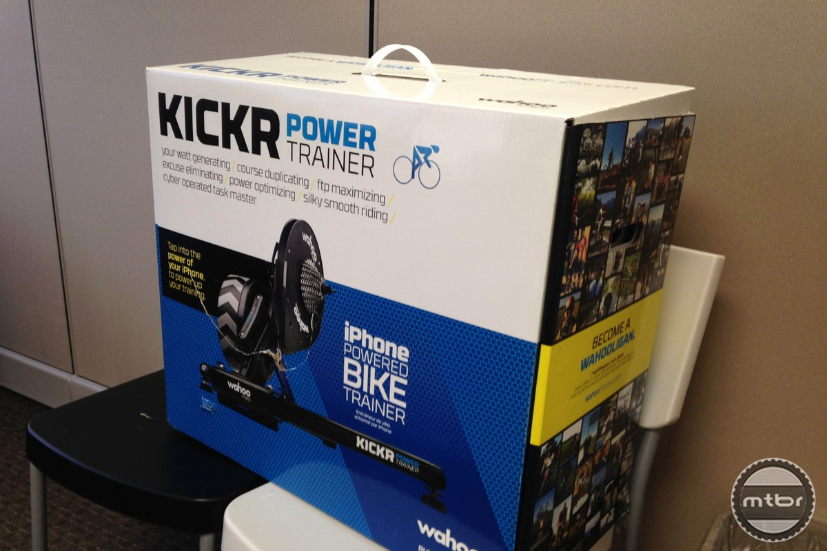 Wahoo KICKR Power Trainer in Box