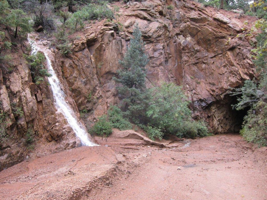 Goldcamp and Jacks hit hard by rains-waterfall.jpg