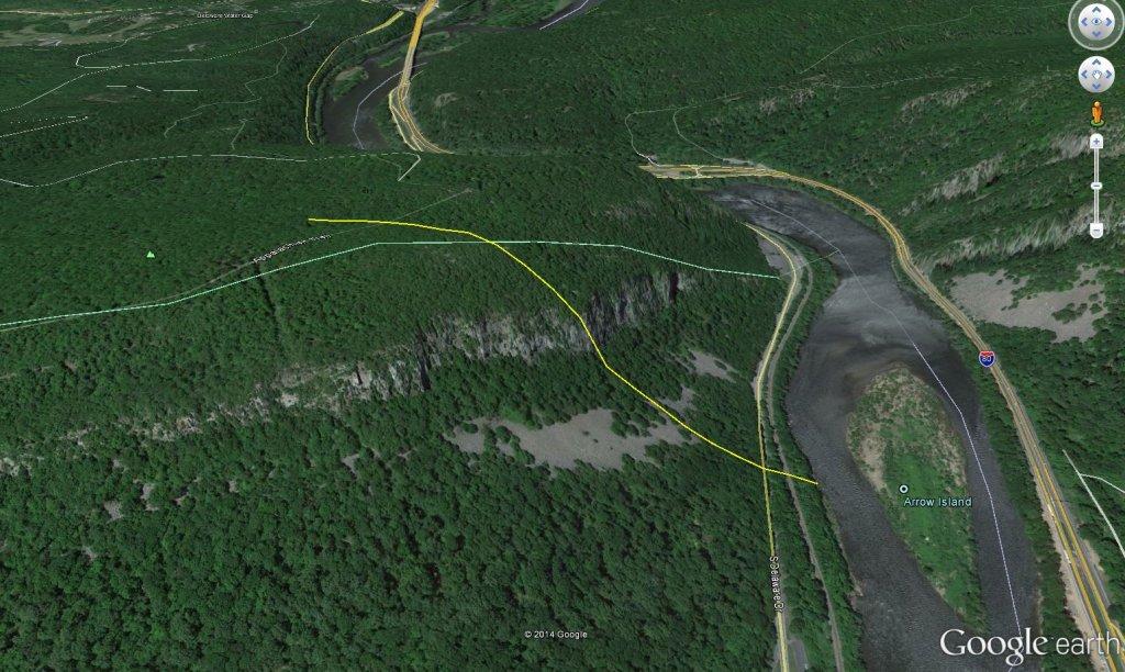 What is the greatest vertical drop in Eastern Pennsylvania?-watergap.jpg