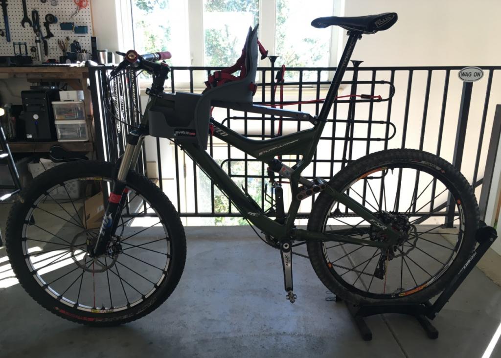 Weeride Ltd Kangaroo Child Bike Seat Reviews Bicycling
