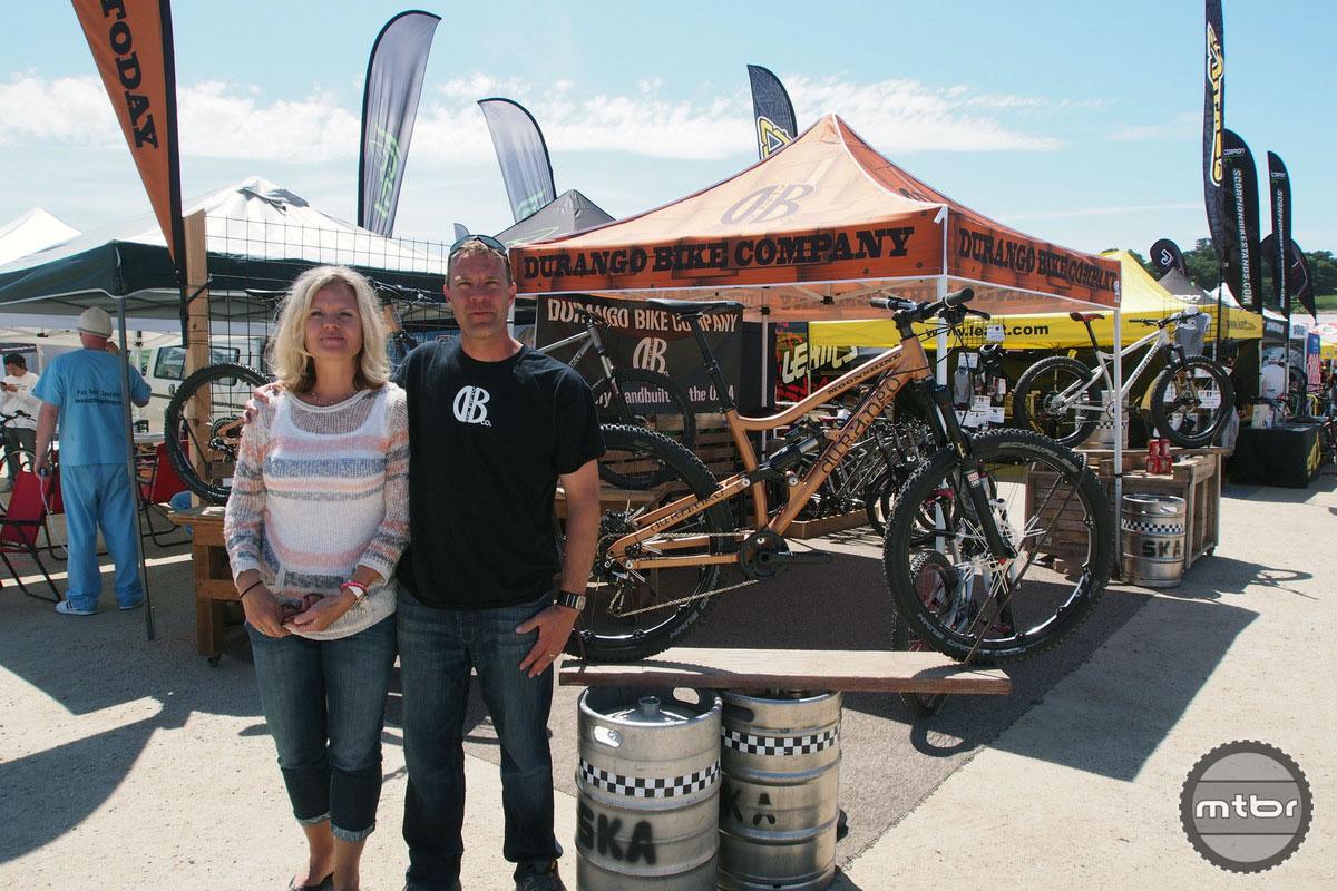 Wendy and Sean Estes of Durango Bike Company