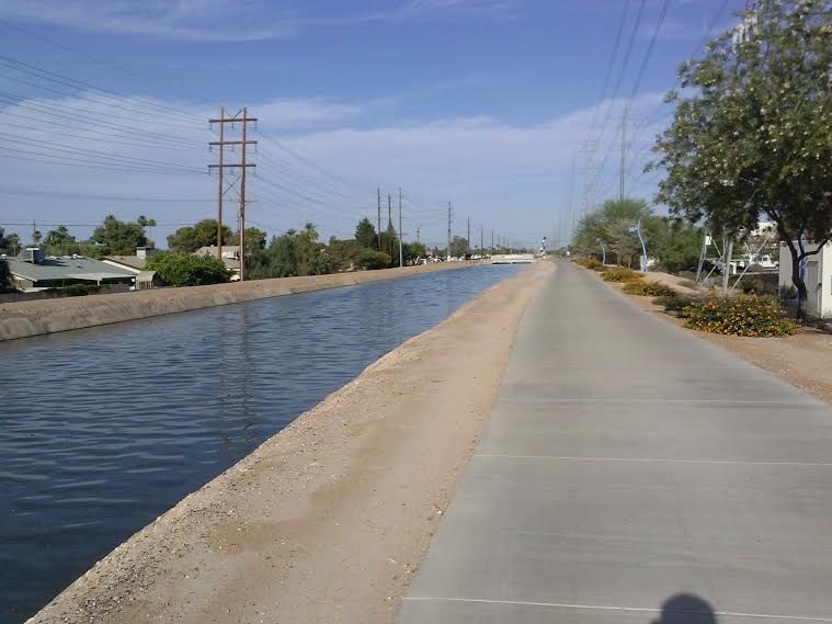 How many use a bike path on their commute?  (PICS)-western-canal1.jpg