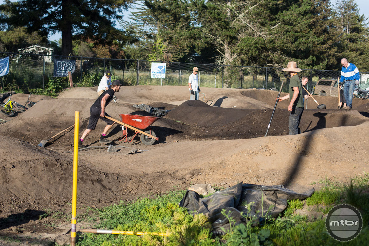 Westside Pumptrack Maintenance