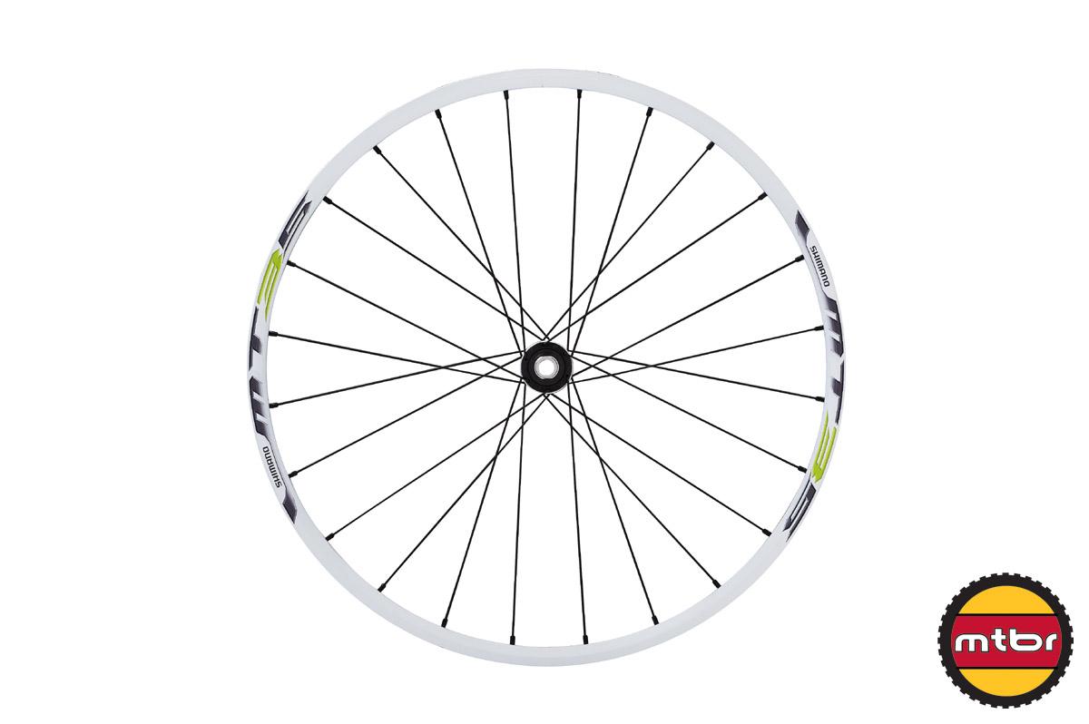 Shimano 275 wheel white