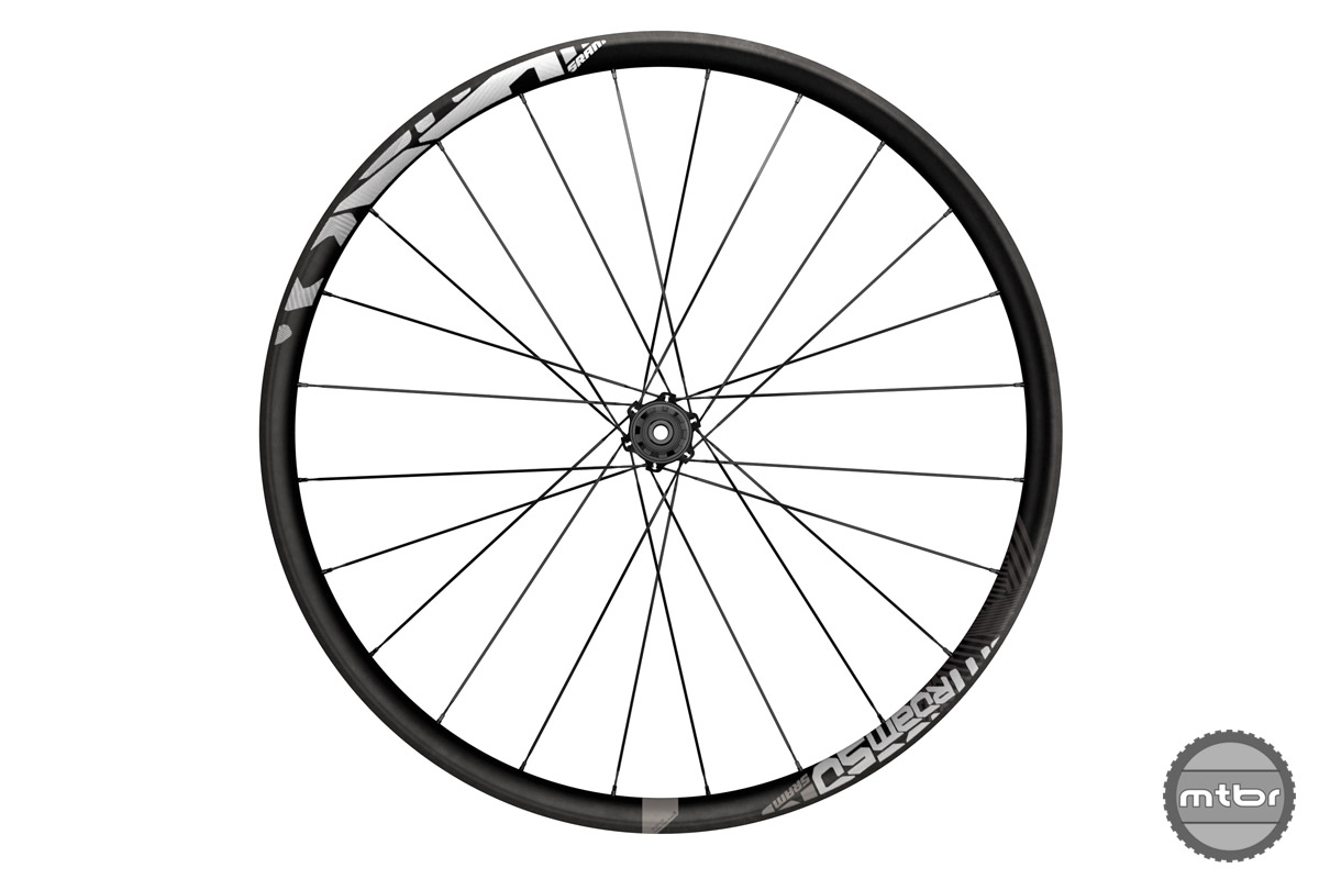 SRAM Roam 50 carbon trail wheels
