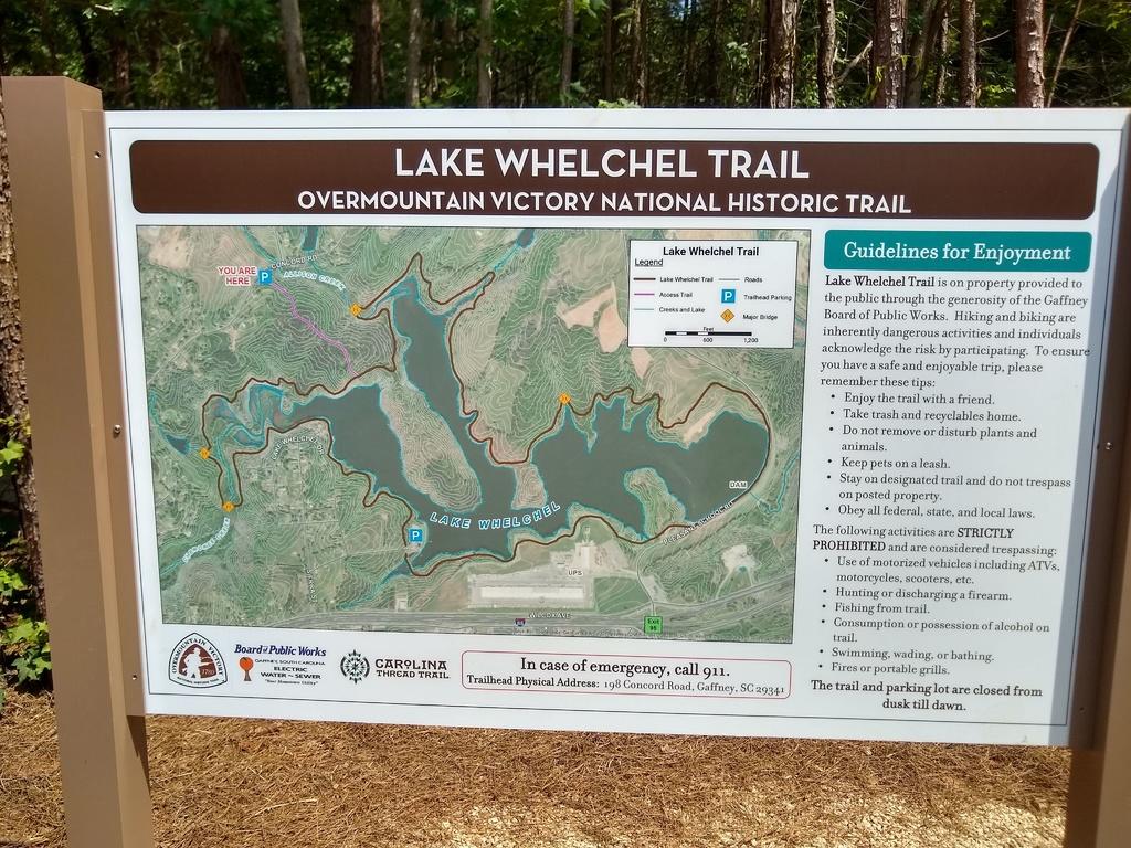 New Trail  - Lake Whelchel - Gaffney, SC-whelchel.jpg