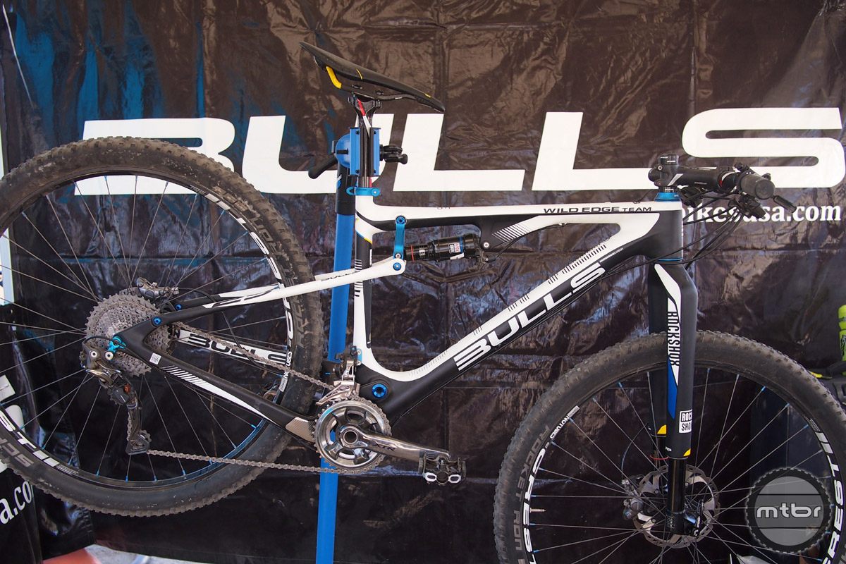 The Wild Edge Team 29 + is not a Plus bike, but it is their top of the line model.