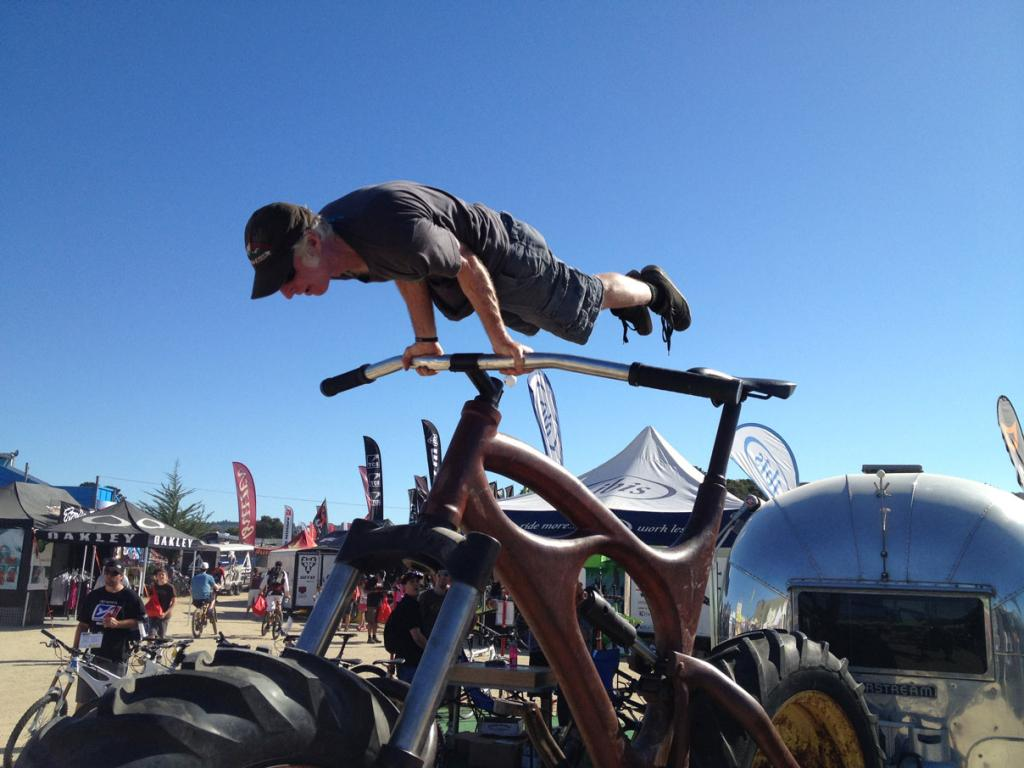 The craziest, Blingest, silliest,Over the top, Out there, bikes you have ever seen ??-will-ibis-sea-otter2012.jpg