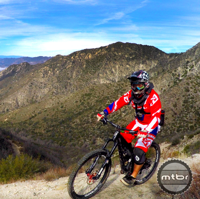 Mt. Wilson descent