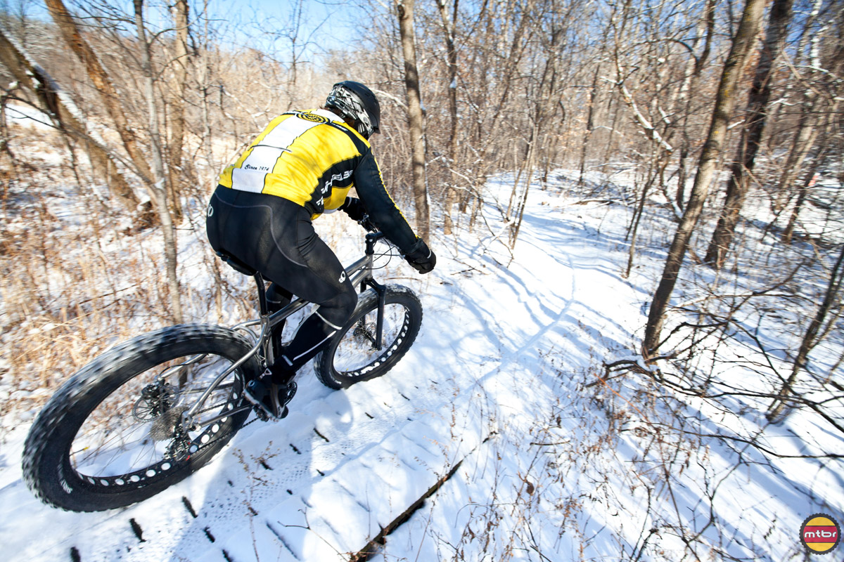 Winter Bike Expo - snow rider