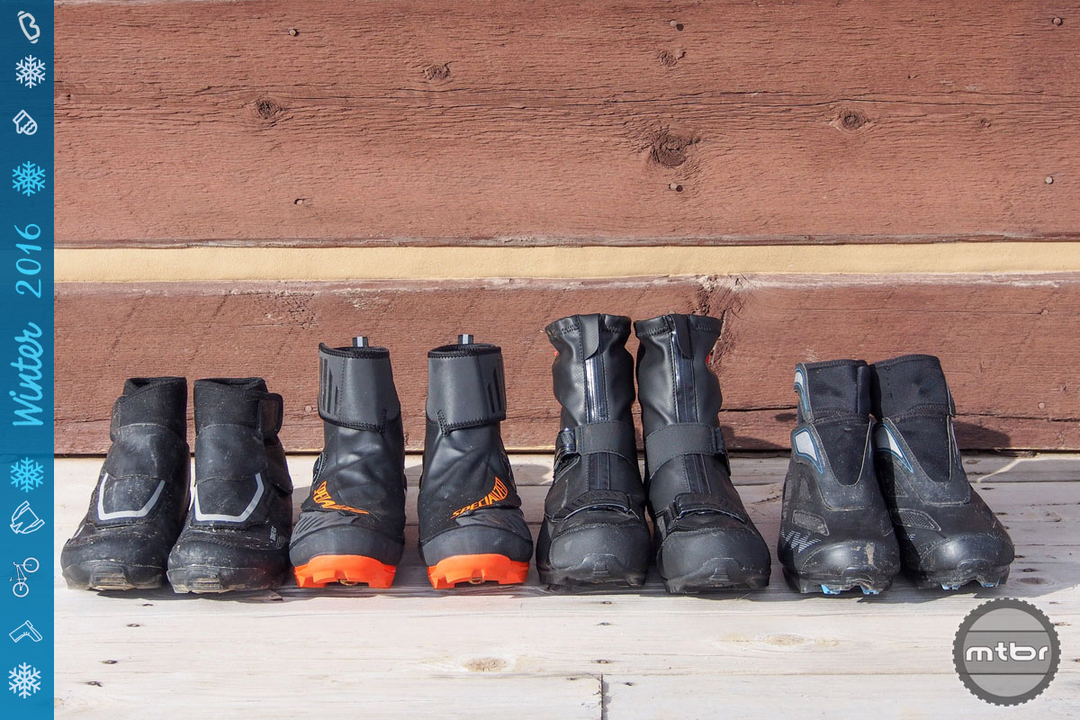 Winter shoes shootout: Bontrager, Northwave, Shimano