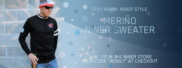 Niner News Nov - Air 9 Carbon frame/kit deal & size small update, Niner Sweaters-wooly.jpg