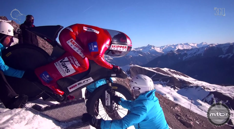 World Mountain Bike Speed Record
