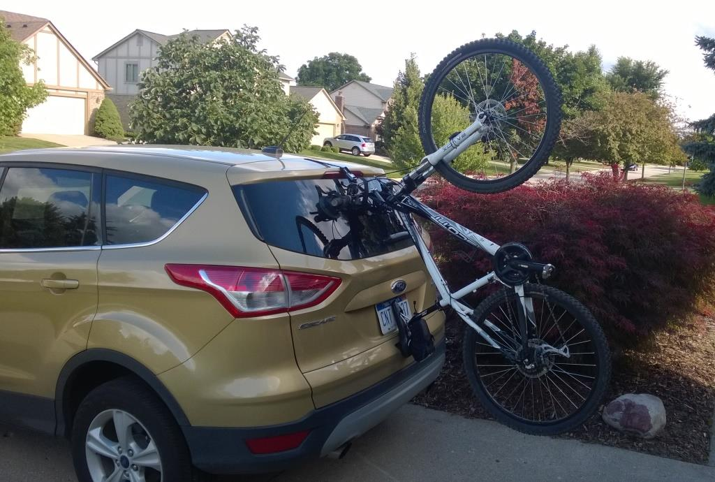 Rack Advice 14 Ford Escape Company Car Mtbr Com