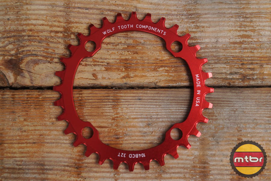 Wolf Tooth Red Chainring