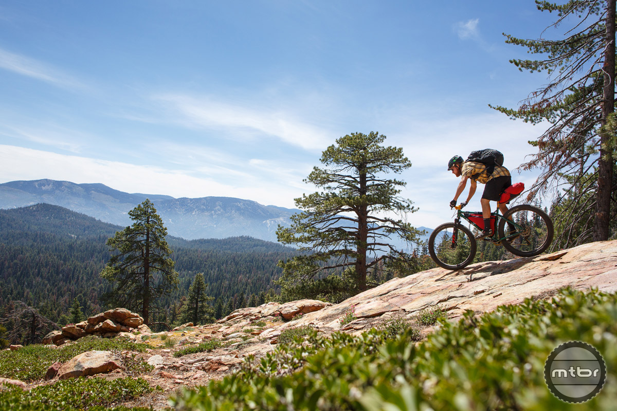 The Ranger is equally at home shredding trail as it is fully loaded on a bikepacking tour.