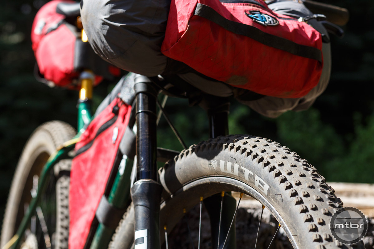 The 29+ standard has emerged as a popular alternative for the bikepacking crowd.