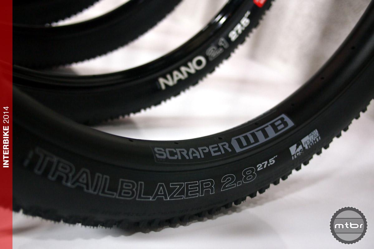 WTB Trailblazer tire - Scraper rim