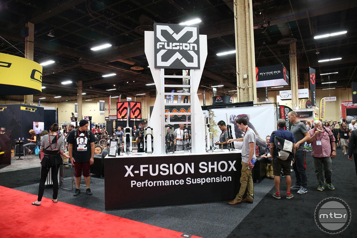 X-Fusion Interbike 2015 Booth