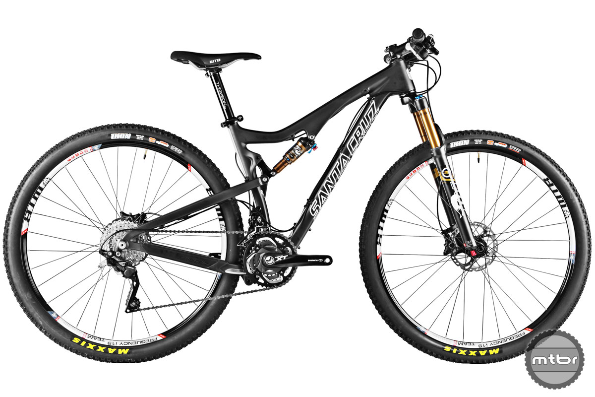 XC bikes are weight conscious and have suspension travel between 80 and 120mm. Photo courtesy of Art's Cyclery