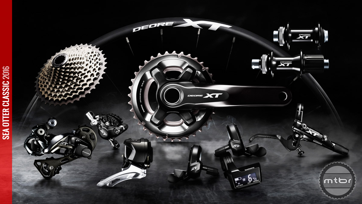 Shimano XT is now available in Di2.