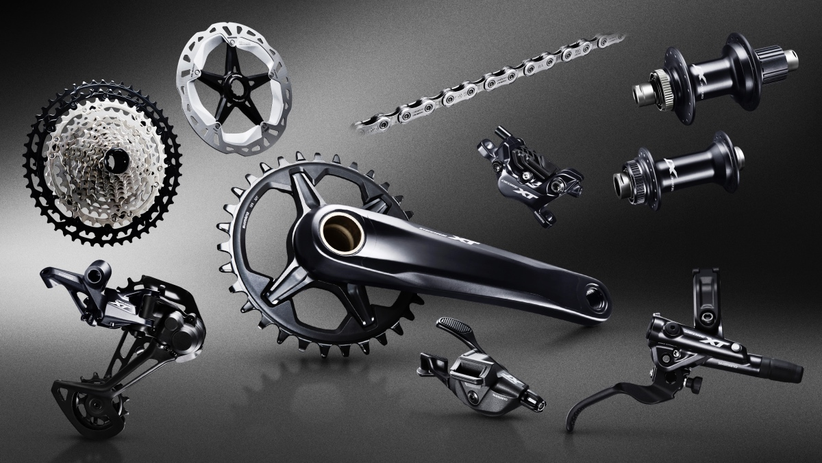32281d23174 Expect Shimano's new 12-speed XT group to show up as OE spec on lots of  bikes in the near future.