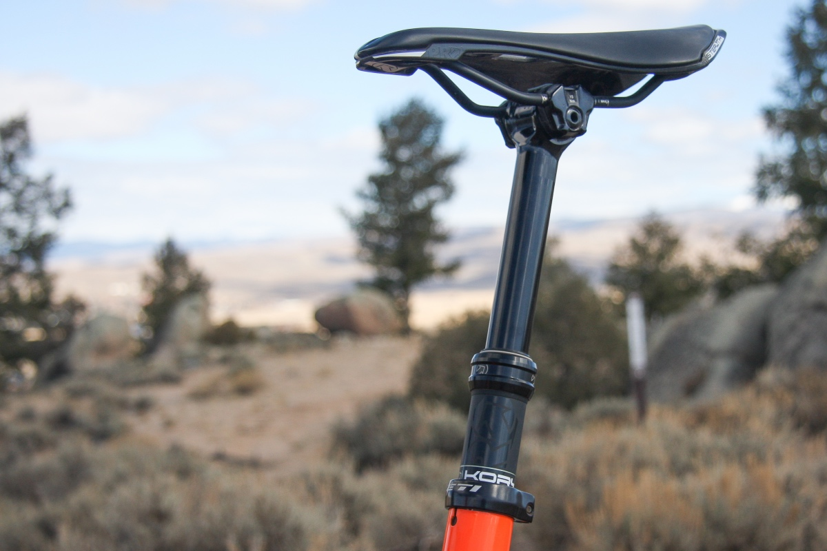 The best dropper posts aren't overly fancy, they just work well. Photo by Jason Sumner