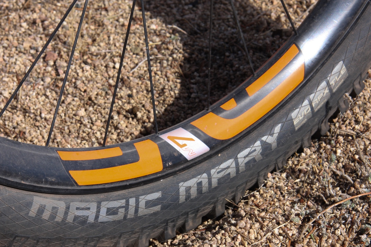 ENVE made some very bold claims when it launched its M7 line, but these M735s have delivered the goods during our test session. Photo by Jason Sumner