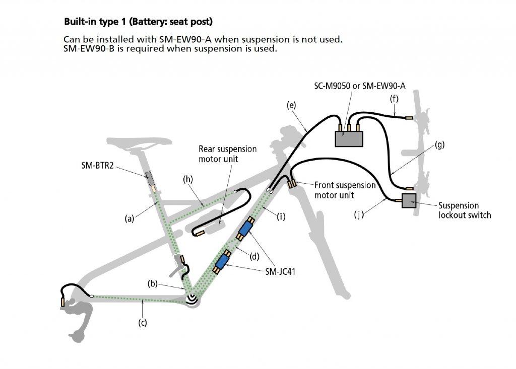 Shimano Bike Schematics