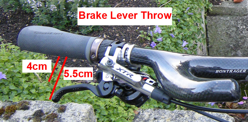 free stroke adjustment on xt brakes