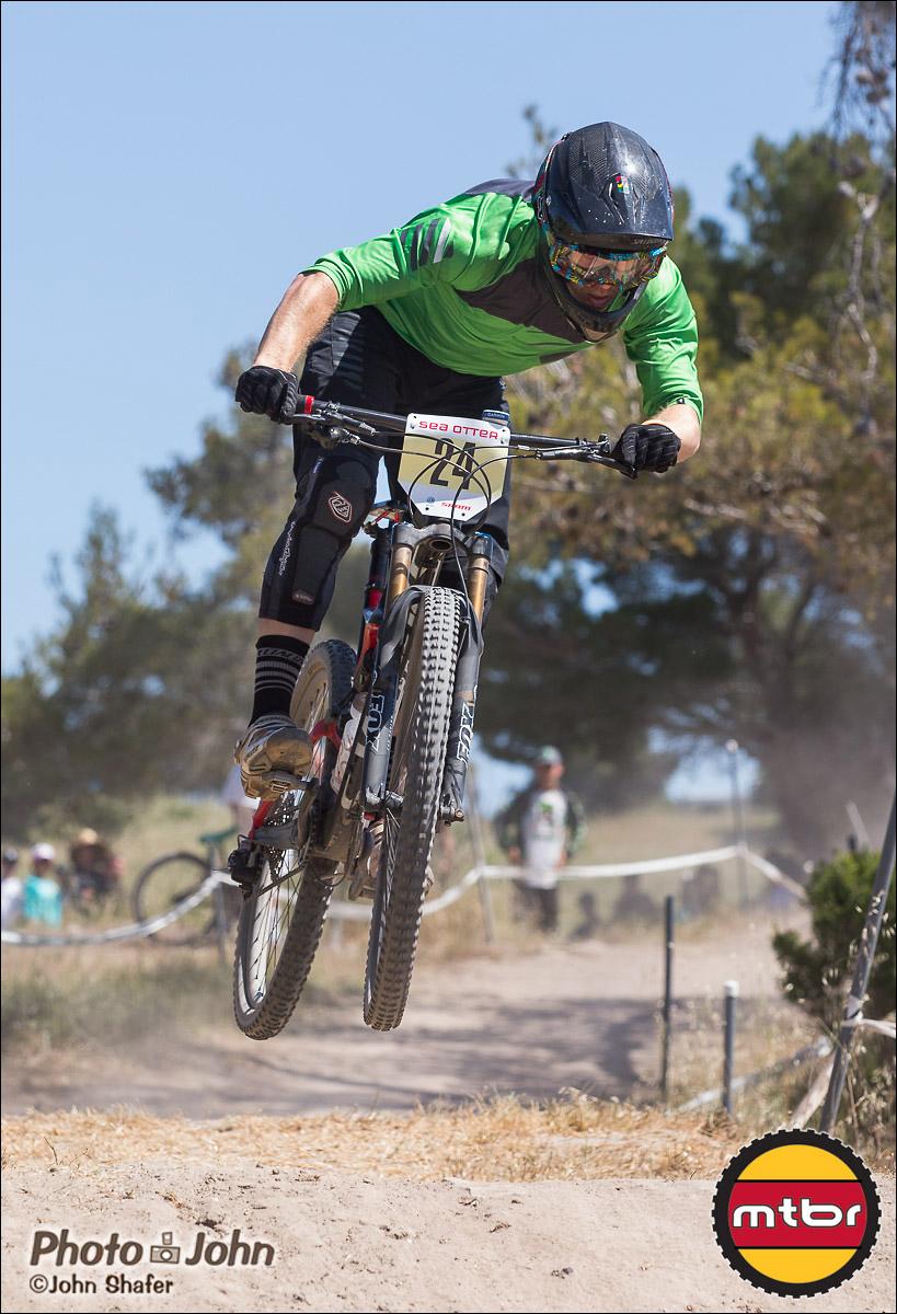 Sam Benedict - 2013 Sea Otter Classic Pro Downhill