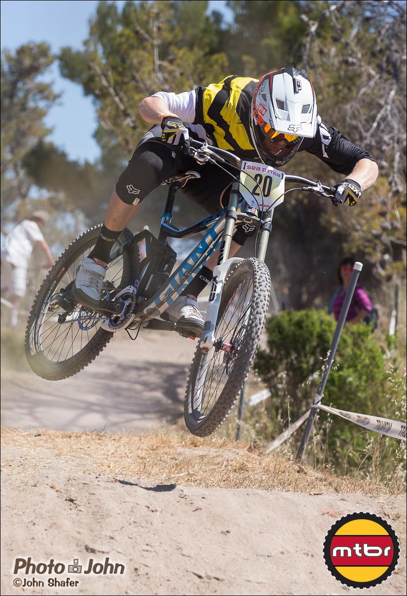 Josh Carlson - 2013 Sea Otter Classic Pro Downhill