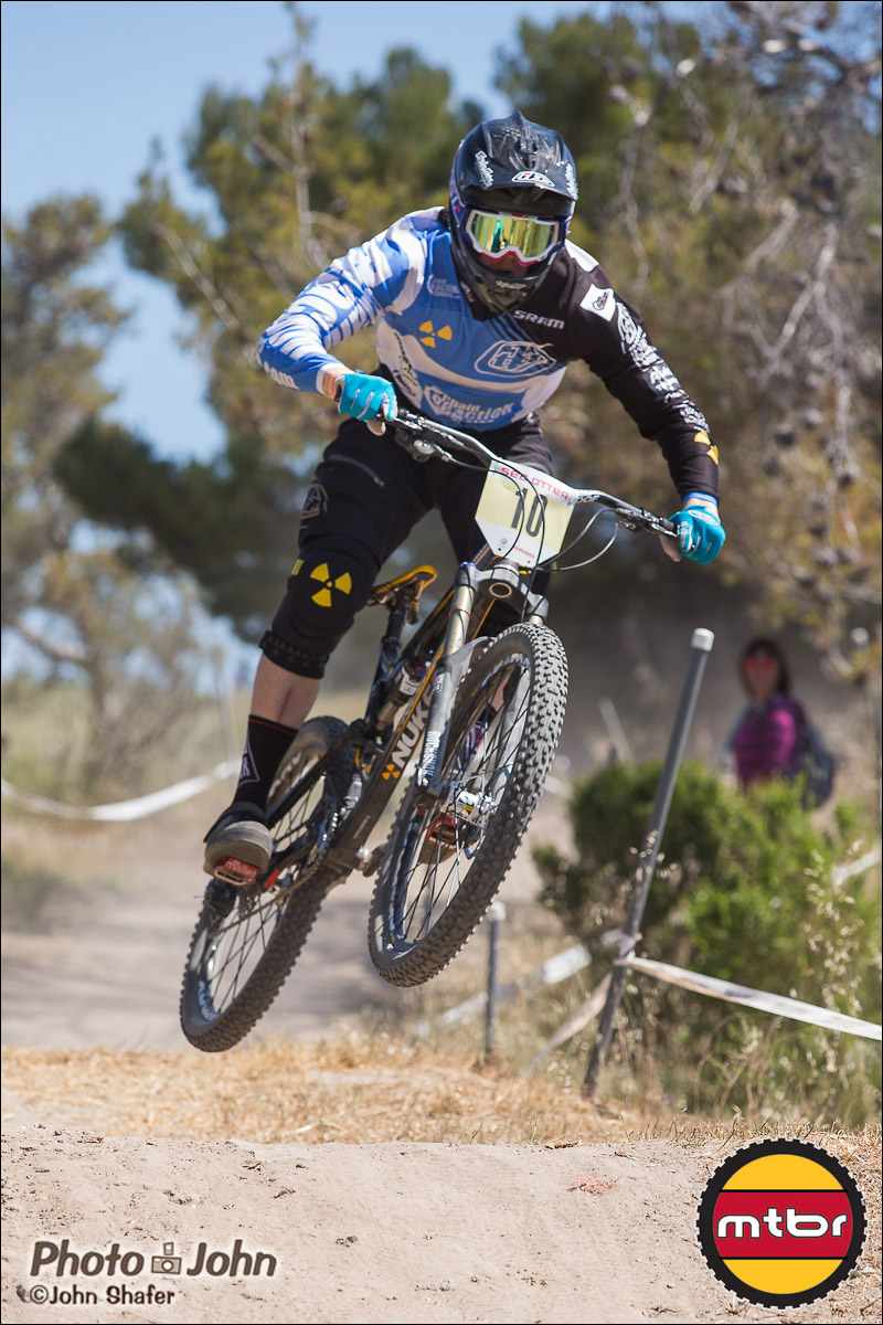Matt Simmonds - 2013 Sea Otter Classic Pro Downhill