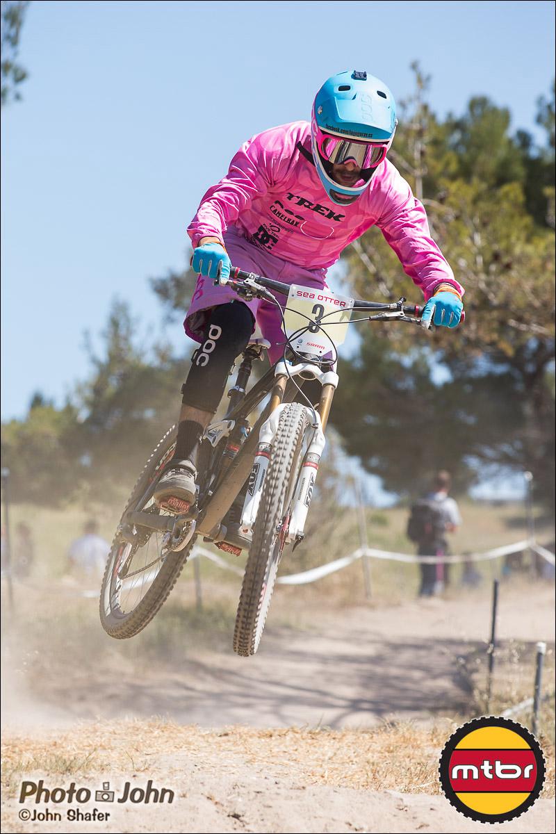 Pretty In Pink - Lago Garay - 2013 Sea Otter Classic Pro Downhill